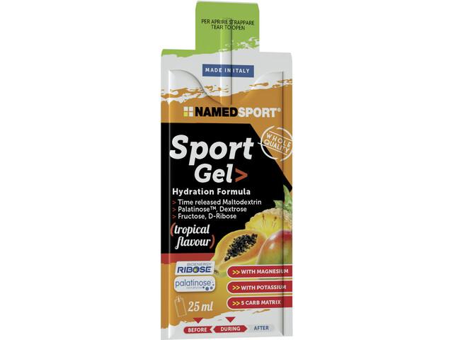 NAMEDSPORT Sport Energy Gel Box 15x25ml, Tropical
